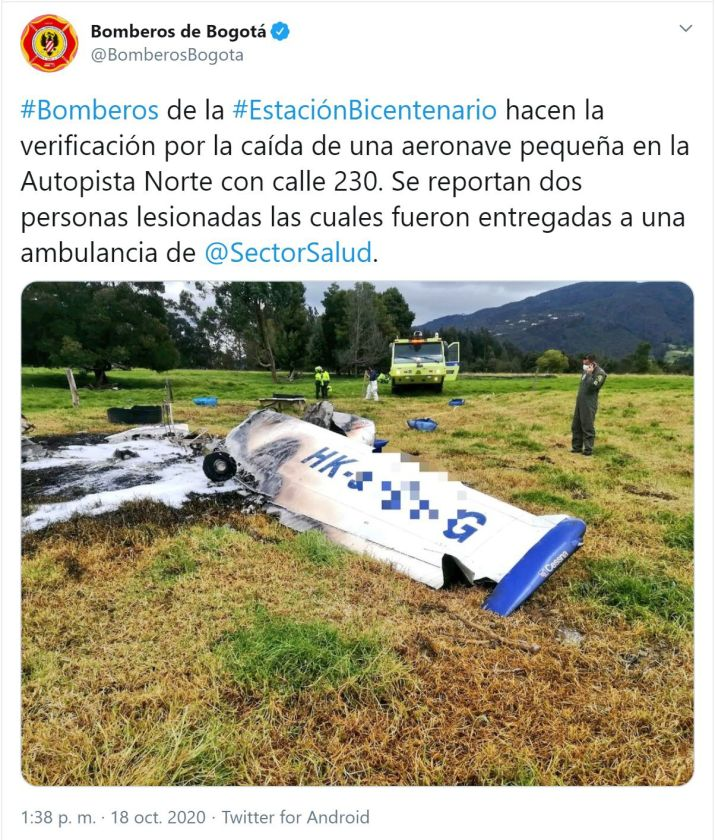 Bomberos Bogotá