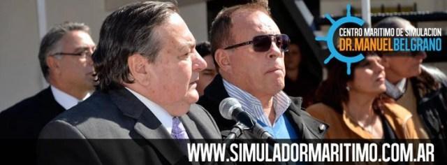 Omar Suárez junto a Marcos Castro, uno de sus históricos aliados gremiales