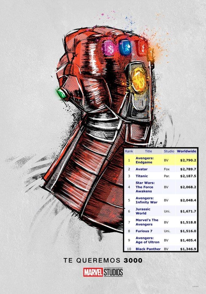El relanzamiento de la película de Marvel, el 11 de julio, añadiendoocho minutos de cinta para acercarse al récord de Avatar, que finalmente acaba de superar (según lo muestra el site especializado Box Office Mojo, en tiempo real). Lacifra seguirá creciendo.