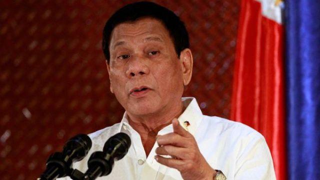 Rodrigo Duterte intenta imponer una estricta ley por el himno nacional (Reuters)