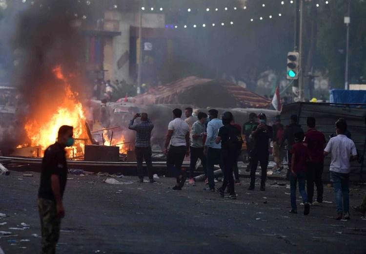 El régimen persa está aprovechando el caos provocado por las protestas en Irak para aumentar el tráfico de misiles