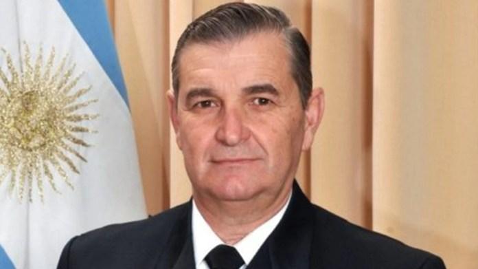 Marcelo Srur, ex jefe de la Armada