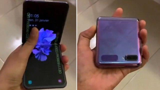 Así luciría el próximo Galaxy X Flip, el cual podría presentarse en el mismo evento en que Galaxy S20 vea la luz. (Foto: Archivo)