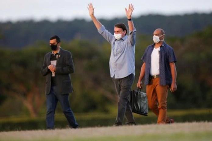 Bolsonaro anunció el 7 de julio que había contraído coronavirus