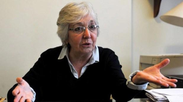 Garrigós de Rébori se había mostrado favorable a las excarcelaciones con la excusa del coronavirus (foto Télam)