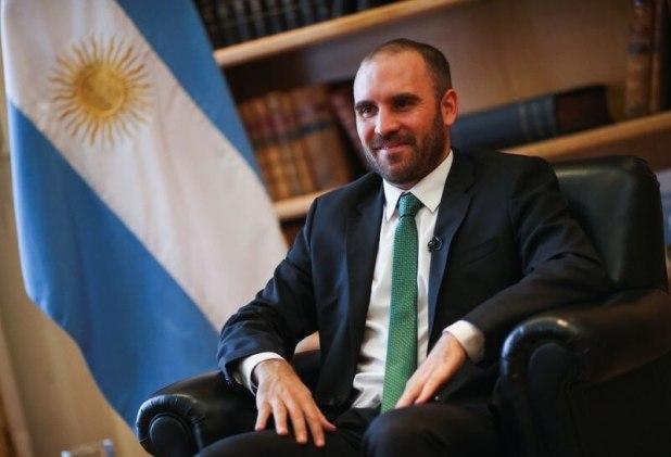 Foto de archivo - El ministro de Economía, Martín Guzmán, habló ante sus pares del G20