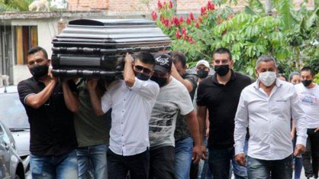 Hubo cuatro masacres en la última semana en el país (Leonardo CASTRO / AFP)