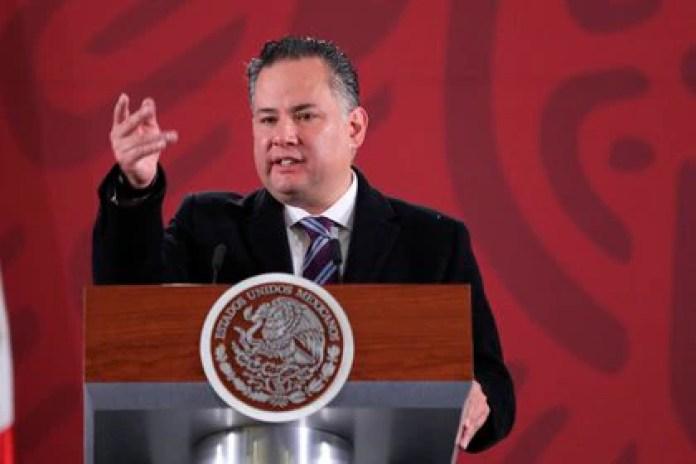 Santiago Nieto, head of the Financial Intelligence Unit (UIF