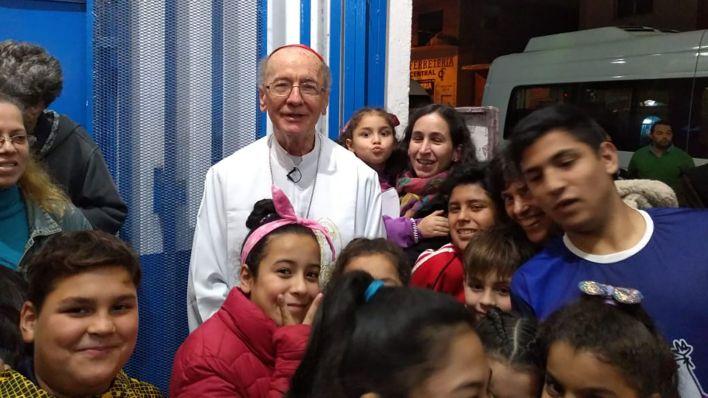 """El cardenal Claudio Hummes. En palabras del Papa, """"un líder con el coraje de abrir caminos"""""""