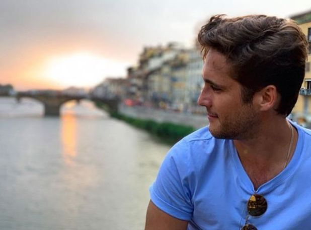 Diego Boneta en Florencia. (Foto: Instagram)