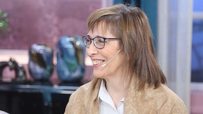 La investigadora del CONICET, Sandra Pitta