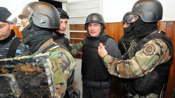 José López detenido