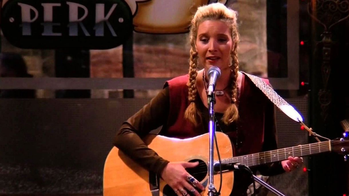 "Lisa Kudrow como ""Phoebe"" en Friends"