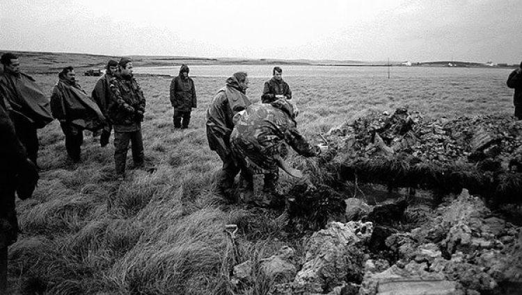 La tumba en el campo de batalla para Carrascull y sus compañeros