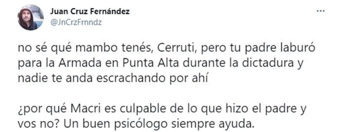 tuit de Fernando Iglesias