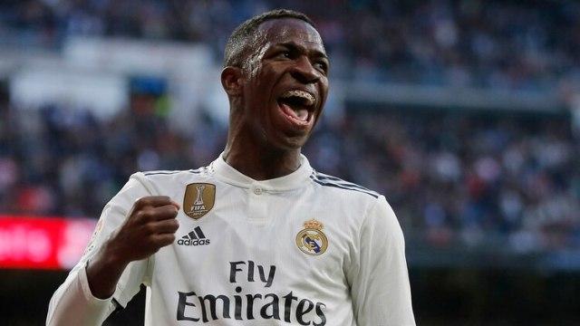 Vinicius Jr. tiene 18 años y juega en el Real Madrid (AP)
