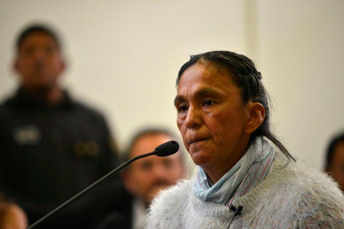 La dirigente social Milagro Sala. (EFE/Edgardo Valera/Archivo)