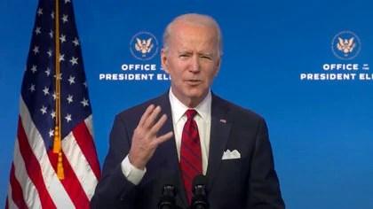 Biden destacó la capacidad de Levine para colaborar en la lucha contra el coronavirus (ZUMA PRESS / CONTACT)