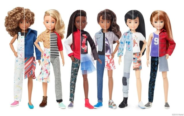 Así es la línea de muñecas Creatable World (Foto: Mattel)
