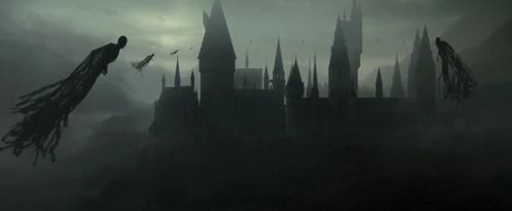 Los dementores son seres que forman parte del mundo de fantasía de Harry Potter