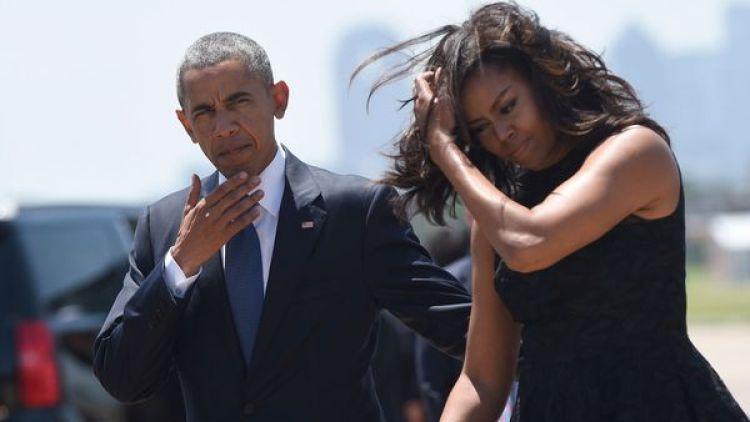 Barack y Michelle Obama buscan residencia en Nueva York (AP)