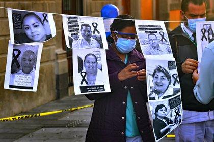 La Ciudad de México por sí sola, acumula 15.8% de todas defunciones a nivel nacional (Foto: EFE/Jorge Núñez /Archivo)