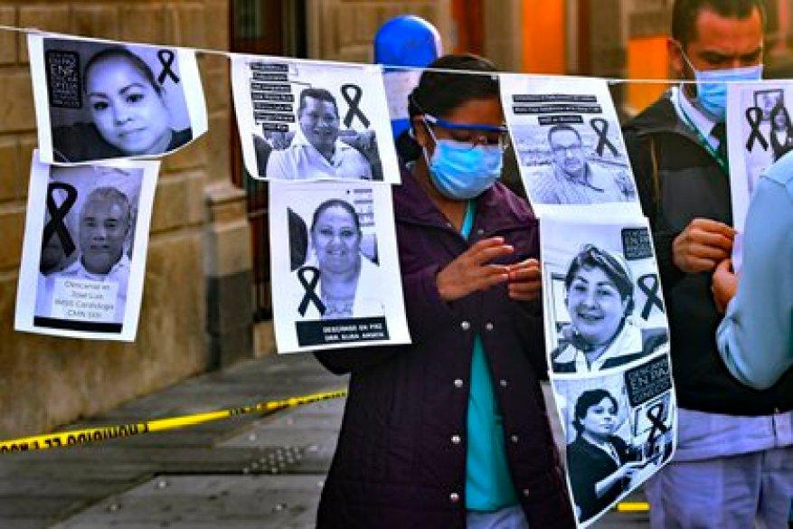 Mexico City alone accumulates 15.8% of all deaths nationwide (Photo: EFE / Jorge Núñez / File)