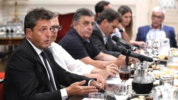 Sergio Massa fue quien cursó las invitaciones y negoció con la oposición el formato que tendrá la reunión