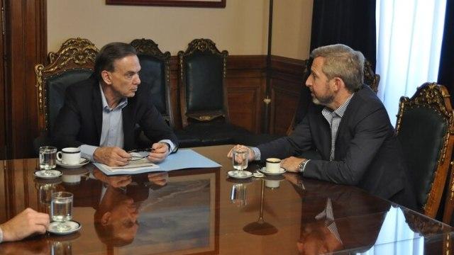 Miguel Ángel Pichetto y Rogelio Frigerio