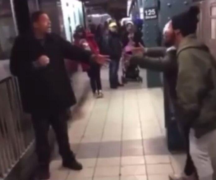 El sospechoso y la joven tuvieron un segundo encuentro en el Metro