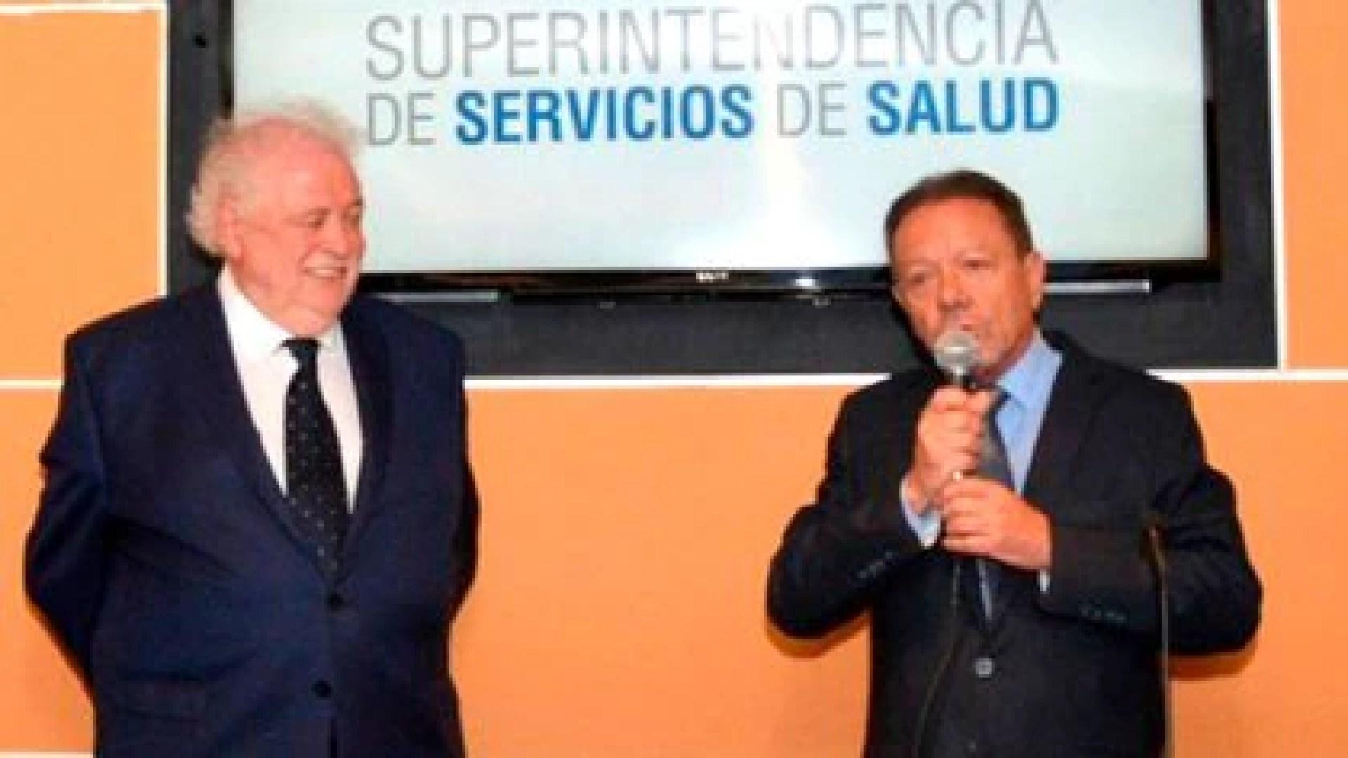 Ginés González García y Eugenio Zanarini