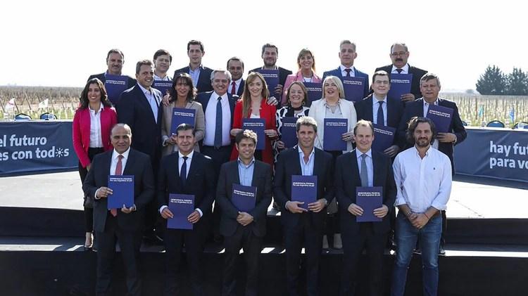 Los gobernadores son claramente la base de sustento político principal que piensa Alberto Fernández en caso de llegar al poder