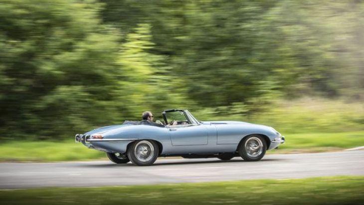 El Jaguar E-Type Concept Zero dispone de una autonomía de 270 kilómetros