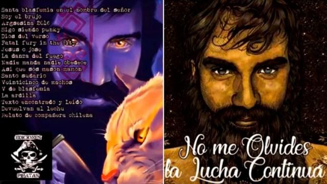 """La tapa de """"No me olvides, la lucha continúa"""", el disco que ya circula con las canciones de Santiago Maldonado"""