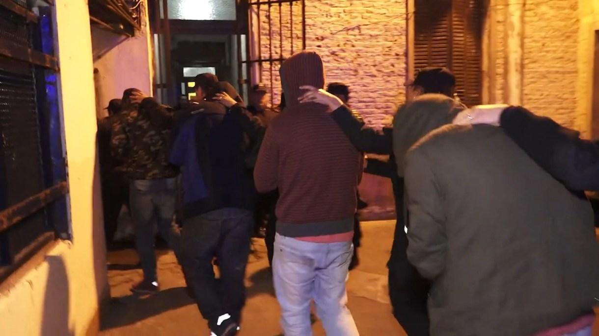 Otros de los policías detenidos en San Miguel del Monte