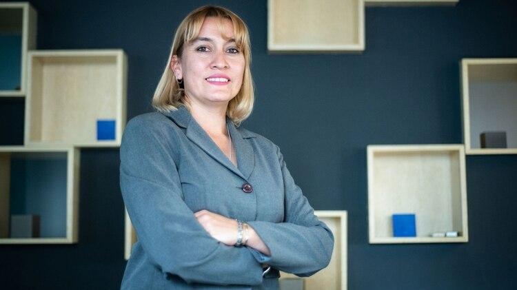 Lorena Matzen, la postulante de Cambiemos (Foto: Manuel Cortina)