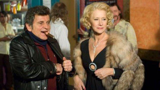 Joe Pesci y Helen Mirren en la película Love Ranch en la piel de Sally y Joe