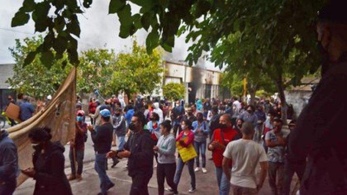 Marcha minera en Andalgalá, Catamarca, contra el proyecto Agua Rica