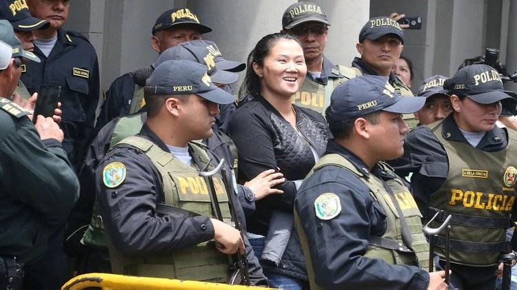 Keiko Fujimori 2018. Andina/Vidal Tarqui Handout via REUTERS
