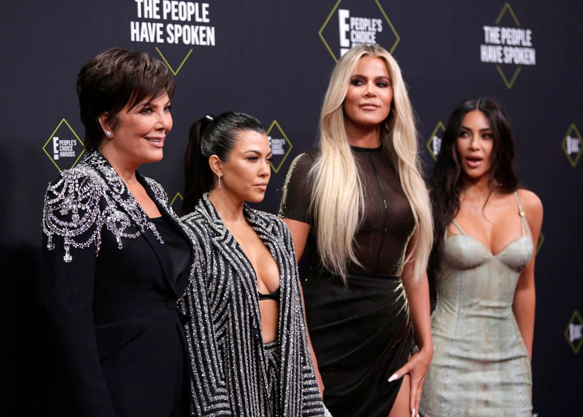 Kris Jenner, Kourtney Kardashian, Khloe Kardashian y Kim Kardashian