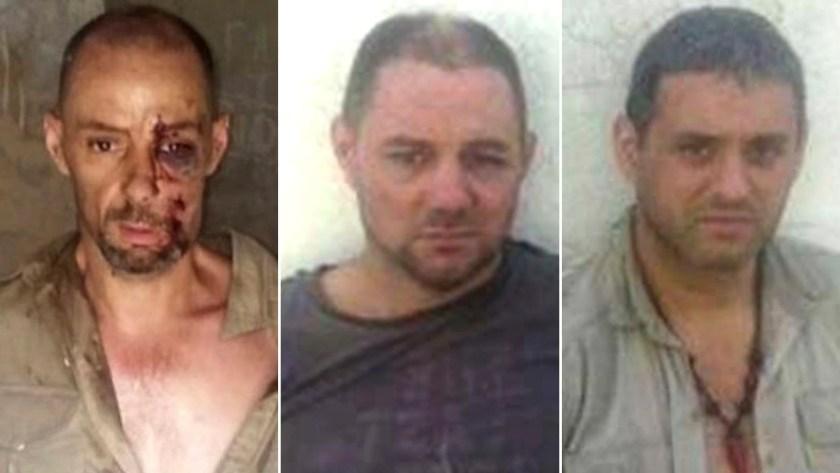 Los hermanos Lanatta y Víctor Schillacii, condenados como autores materiales del Triple Crimen.