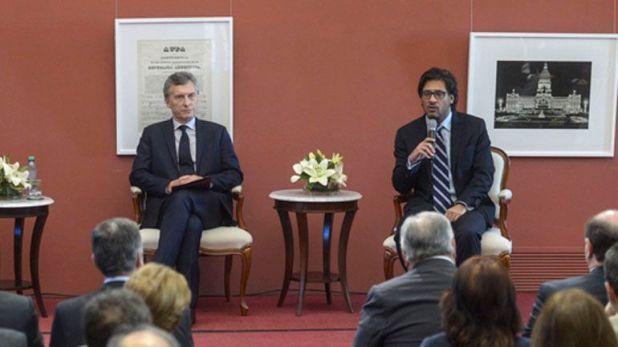 Mauricio Macri y German Garavano, ex ministro de Justicia