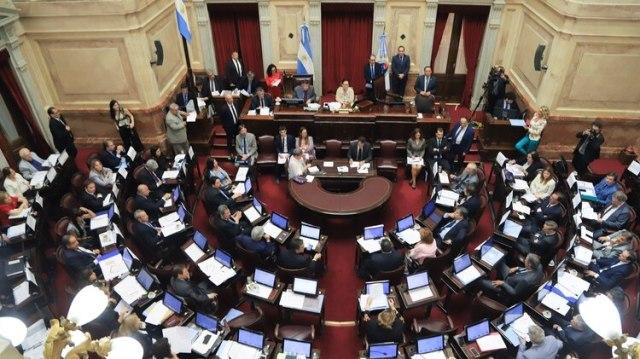 El Senado tratará el miércoles el proyecto de emergencia alimentaria para sancionarlo (NA)