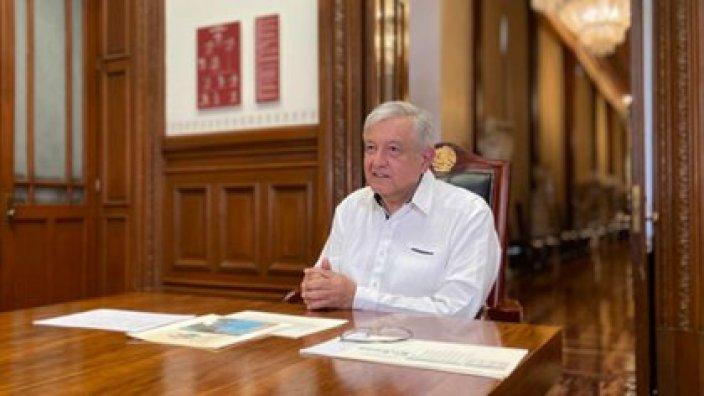 Andrés Manuel López Obrador llamó a la reactivación de actividades económicas (Foto: Cortesía / Presidencia)