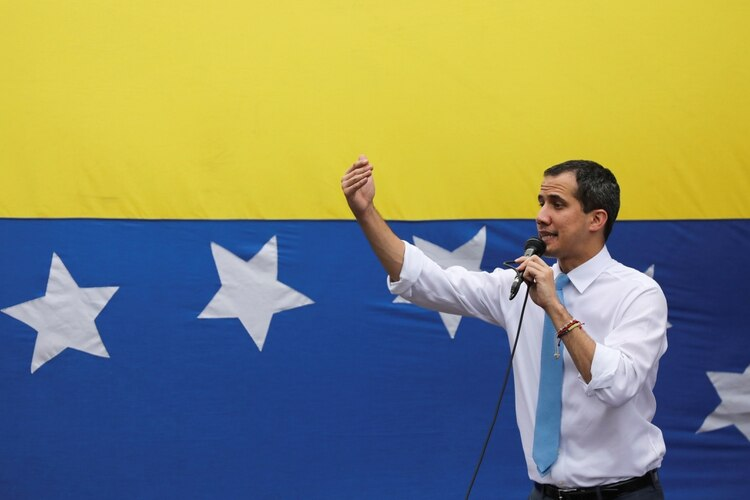 La justicia chavista citó a declarar a Juan Guaidó (REUTERS/Manaure Quintero)