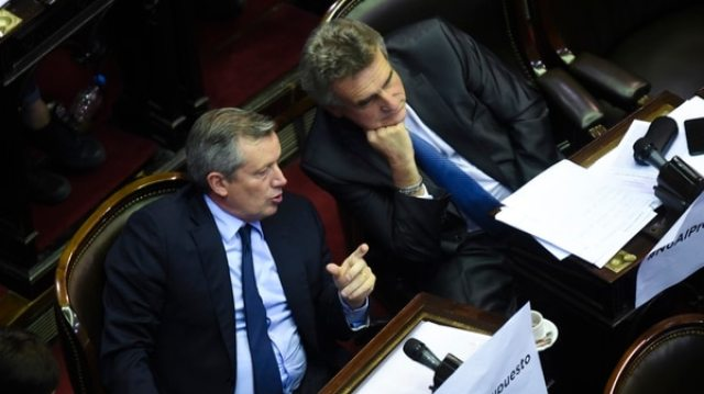 Emilio Monzó y Agustín Rossi