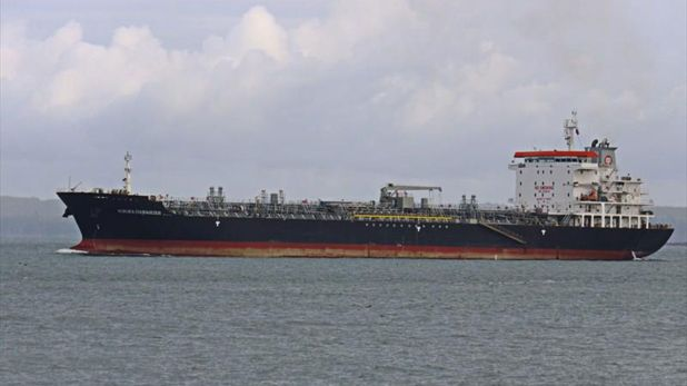 El petrolero Kokuka Courageous (Frederick A. Terry/ MarineTraffic)