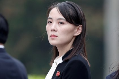 Kim Yo Jong, hermana del supremo líder (Reuters)