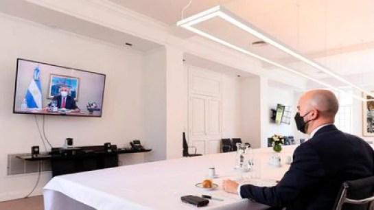 Alberto Fernández almorzó con Juan González, asesor especial de Joseph Biden para América Latina, en la quinta presidencial de Olivos
