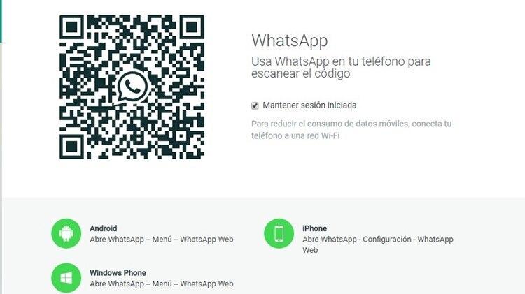 Para ingresar a WhatsApp Web como a cualquier otro sitio, lo conveniente es buscar la dirección directamente en el navegador y evitar seguir cualquier link que llegue por mensaje o correo.